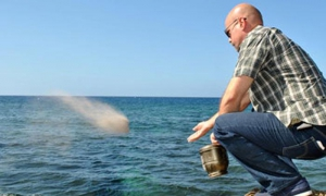 Gerardo, along with other members of the Cuban Five, cast Bernie's ashes into the sea off Havana's rocky coastline.
