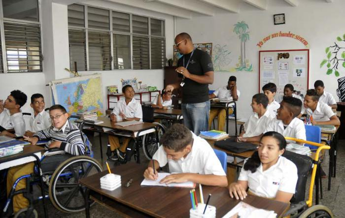Cuba Supports Over 37000 Special Education Students Cuba Granma