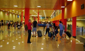 Varadero's Juan Gualberto Gómez International Airport is a major gateway for international tourism to Cuba.