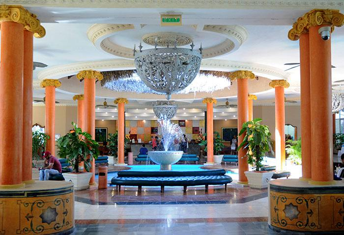The lobby of the IBEROSTAR Varadero is globally renowned for its elegance.
