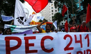 Protests have erupted across Brazil in opposition to the proposed Constitutional amendment.