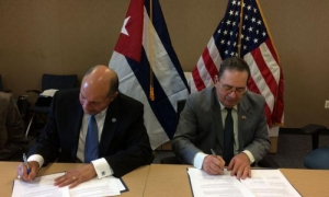 Cuba and U.S. sign cooperation agreement on meteorological and climate issues