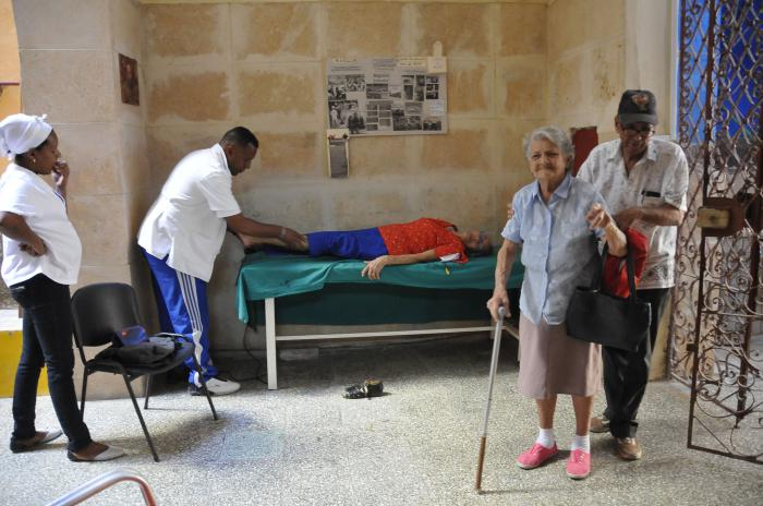 Daily Physiotherapy and rehabilitation treatments help to improve older adults' physical abilities.