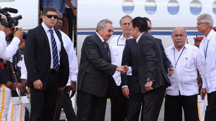 Raul Castro en République dominicaine (+ Photos)