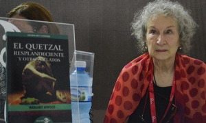 Works by Margaret Atwood are one of the great attractions at the 26th Havana International Book Fair.