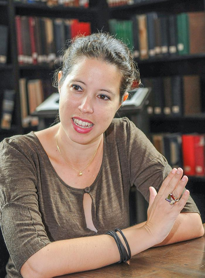 Claudia Felipe Torres, PhD in Heritage Management and Conservation, spoke with Granma International about the university's architectural patrimony.