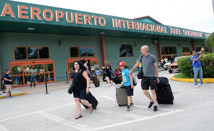 Cuba welcomed 284,937 U.S. visitors in 2016, representing a 74% increase on 2015. Pictured is Villa Clara's Abel Santamaría International Airport.