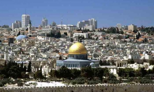 According to international law, Jerusalem is the capital of Palestine, although it has been occupied by Israel since 1967.
