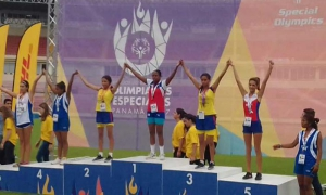 Cuba wins gold in Special Olympics.