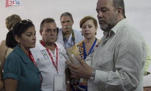 Cuban Tourism Minister Manuel Marrero has shown an interest in EBM's work in the most dynamic sector of the Cuban economy.