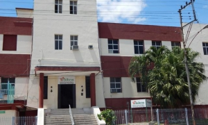 The National Institute of Hygiene, Epidemiology & Microbiology (INHEM), is located at 1158 Infanta Avenue, in Central Havana.