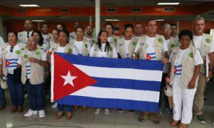 Cuban collaborators return from Peru
