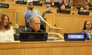 Oscar López Rivera condemns Puerto Rico's colonial status at UN