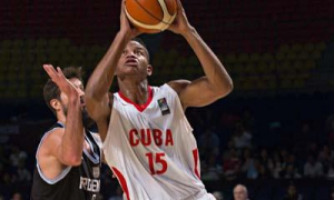 Jasiel Rivero is one of Cuban basketball's mainstays.