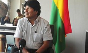 "Evo Morales: ""Now is the best time to unite"""