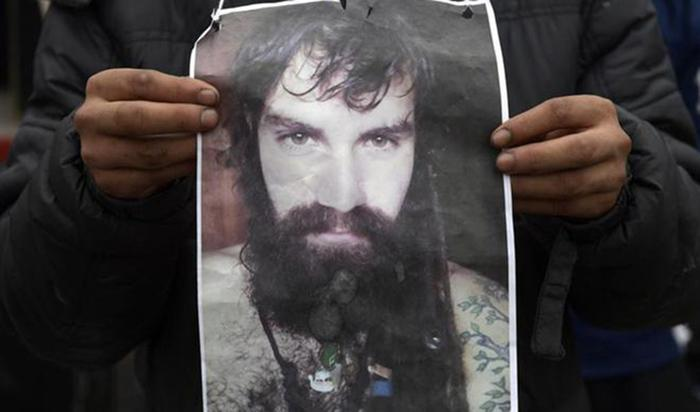 Where is Santiago Maldonado?