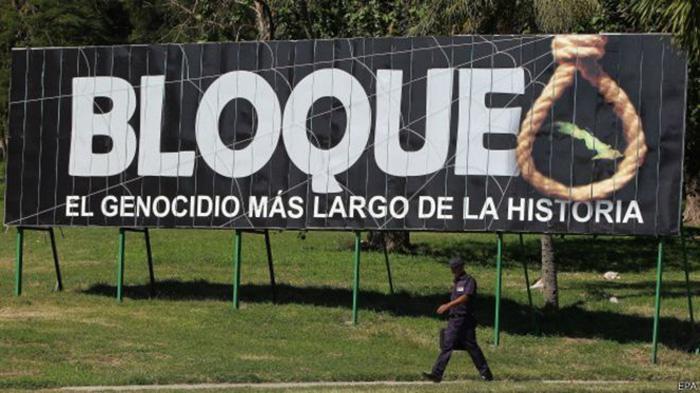 U.S. blockade of Cuba denounced at UN