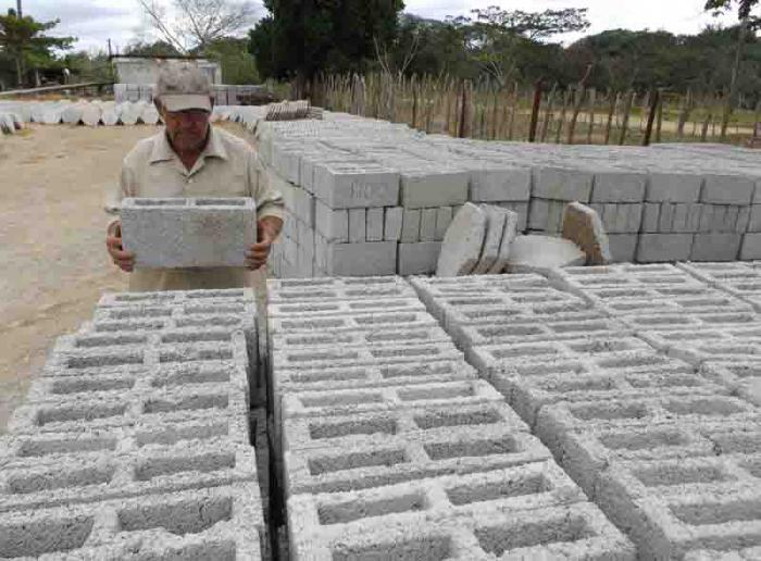 Production of construction materials intensified in Camagüey