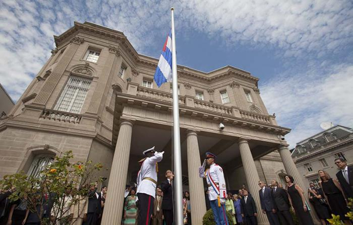 U.S. expels 15 diplomats from Cuban Embassy in Washington