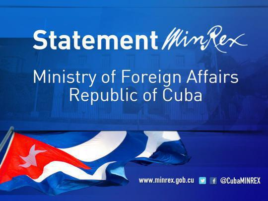 Cuba has never perpetrated attacks of any sort against diplomatic officials