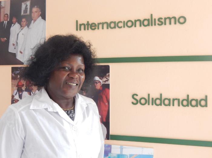 Aleida, a veteran internationalist