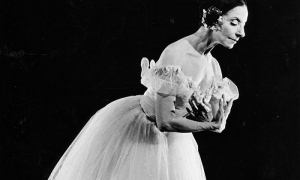 Alicia Alonso, ballet Giselle.