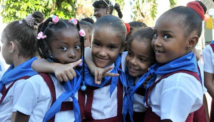 Cuba, a champion of children's' rights.