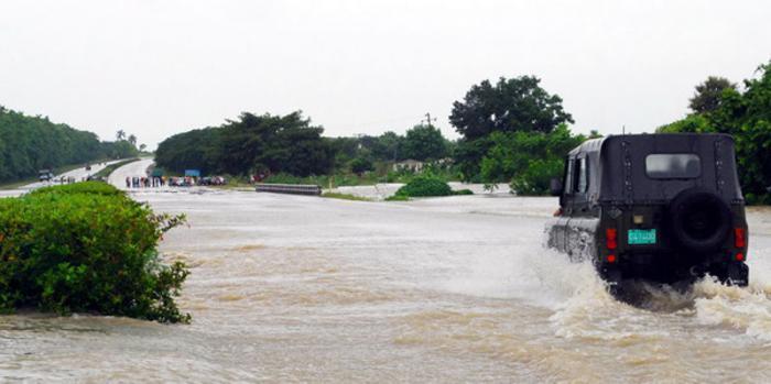 Traffic on National Highway detoured