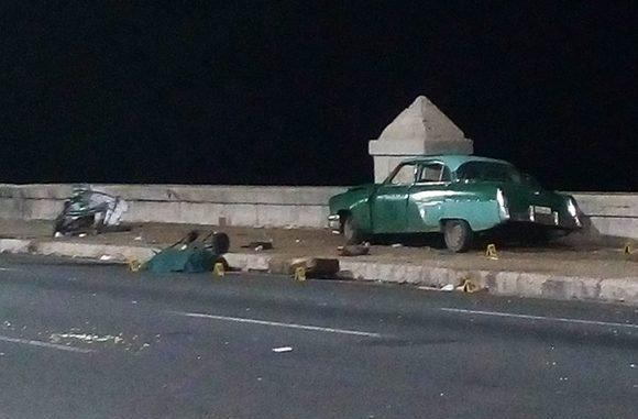 Preliminary results of fatal crash on the Havana Malecón › Cuba