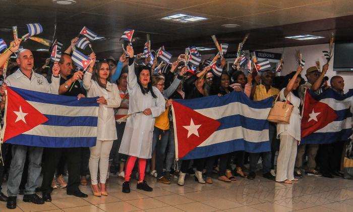 Cuban health collaborators