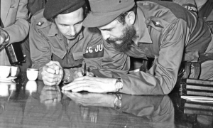 As Fidel and Raúl have taught us, in our society and in our Party, one principle must prevail: the example, which means merit, ability, and modesty.